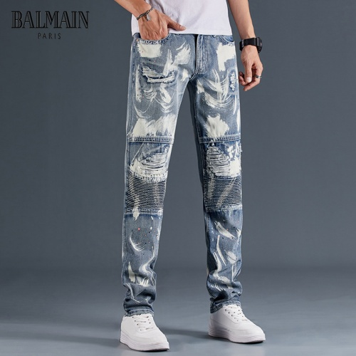 Balmain Jeans Trousers For Men #815591