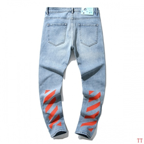 Off-White Jeans Trousers For Men #815624 $52.00, Wholesale Replica Off-White Jeans