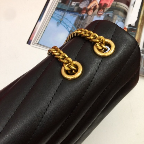 Replica Yves Saint Laurent YSL AAA Quality Shoulder Bags #815654 $102.00 USD for Wholesale