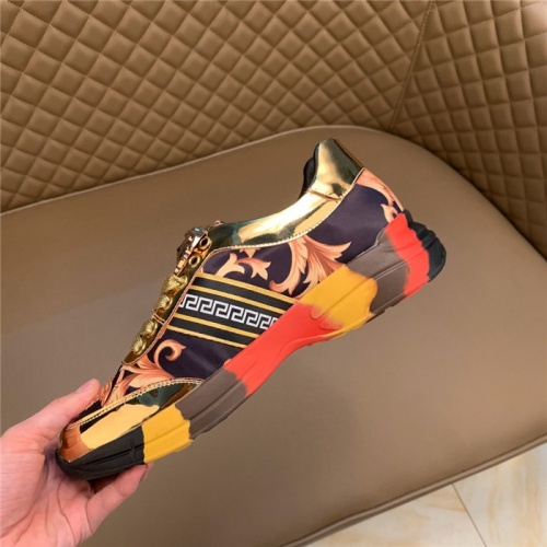 Replica Versace Casual Shoes For Men #815679 $76.00 USD for Wholesale