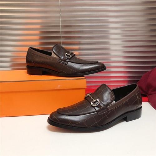 Hermes Leather Shoes For Men #815683
