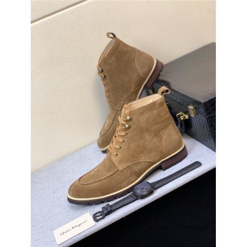 Ferragamo Salvatore Boots For Men #815690