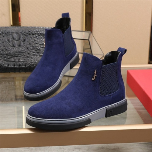 Ferragamo Salvatore Boots For Men #815740
