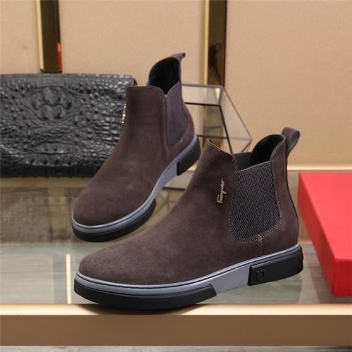 Ferragamo Salvatore Boots For Men #815741