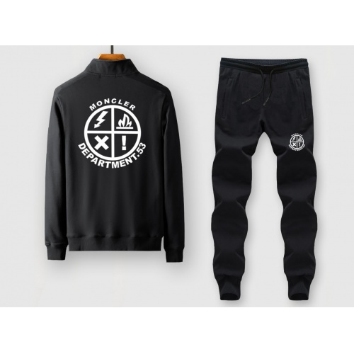 Moncler Tracksuits Long Sleeved Zipper For Men #815876