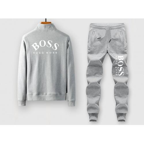 Boss Tracksuits Long Sleeved Zipper For Men #815885