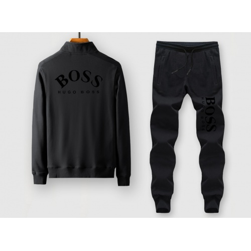 Boss Tracksuits Long Sleeved Zipper For Men #815888