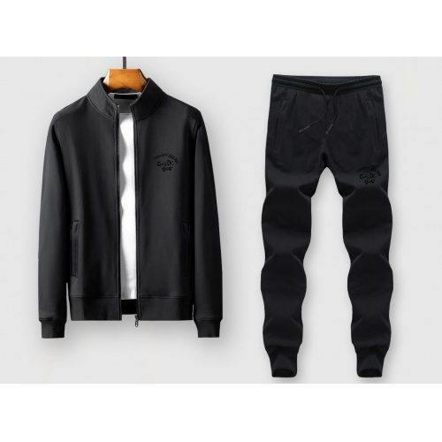 Dolce & Gabbana D&G Tracksuits Long Sleeved Zipper For Men #815895