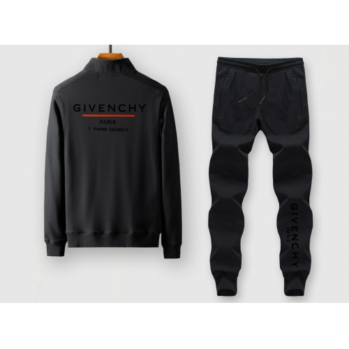 Givenchy Tracksuits Long Sleeved Zipper For Men #815909