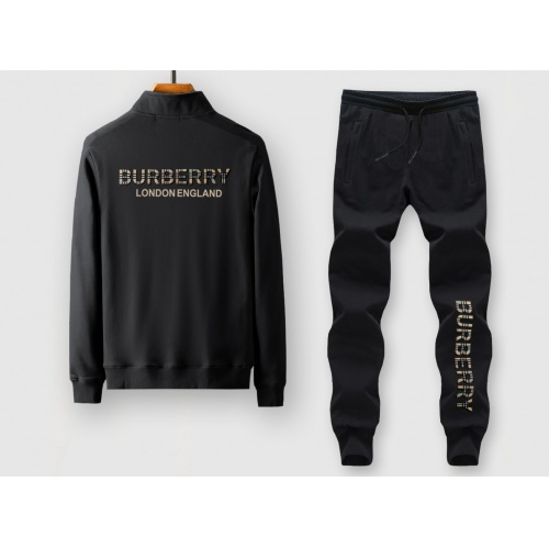 Burberry Tracksuits Long Sleeved Zipper For Men #815930