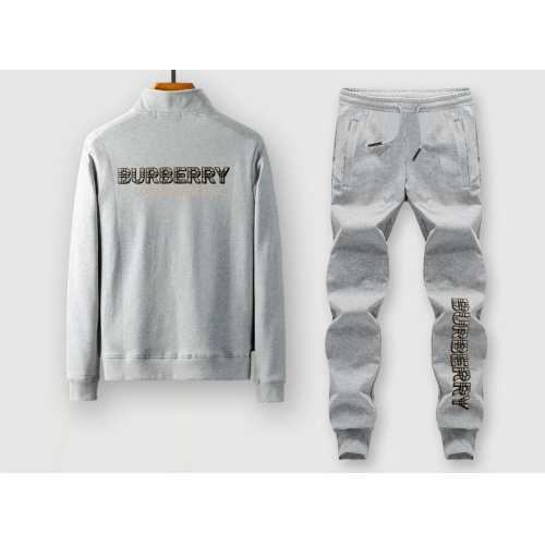 Burberry Tracksuits Long Sleeved Zipper For Men #815932