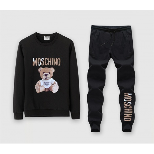 Moschino Tracksuits Long Sleeved O-Neck For Men #816018