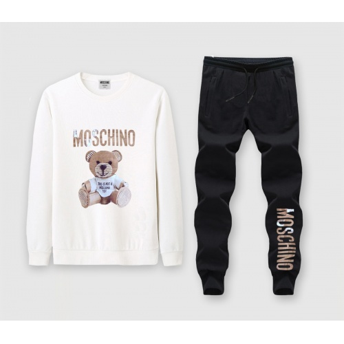 Moschino Tracksuits Long Sleeved O-Neck For Men #816019