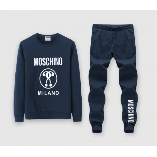 Moschino Tracksuits Long Sleeved O-Neck For Men #816022