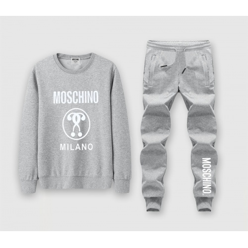 Moschino Tracksuits Long Sleeved O-Neck For Men #816023
