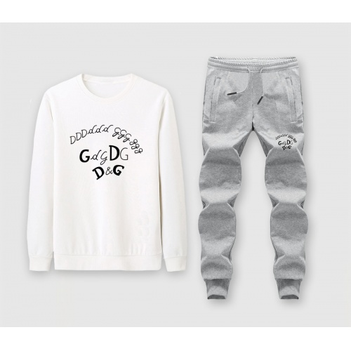 Dolce & Gabbana D&G Tracksuits Long Sleeved O-Neck For Men #816030