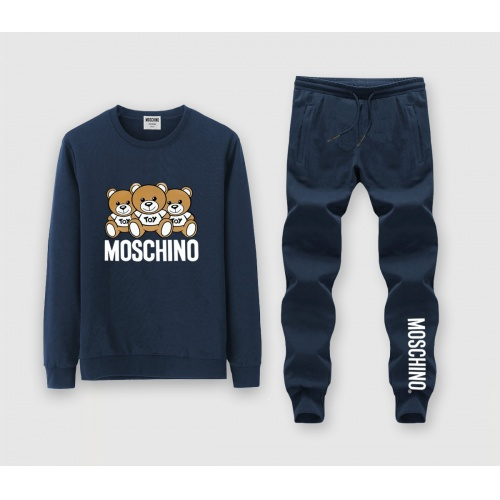 Moschino Tracksuits Long Sleeved O-Neck For Men #816037