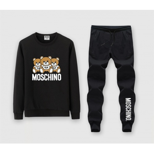 Moschino Tracksuits Long Sleeved O-Neck For Men #816039