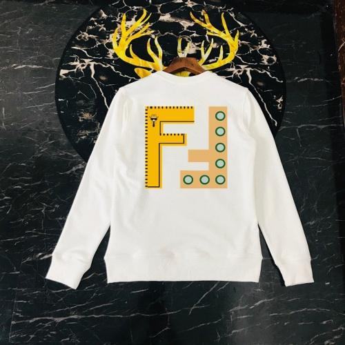 Fendi Hoodies Long Sleeved O-Neck For Men #816057