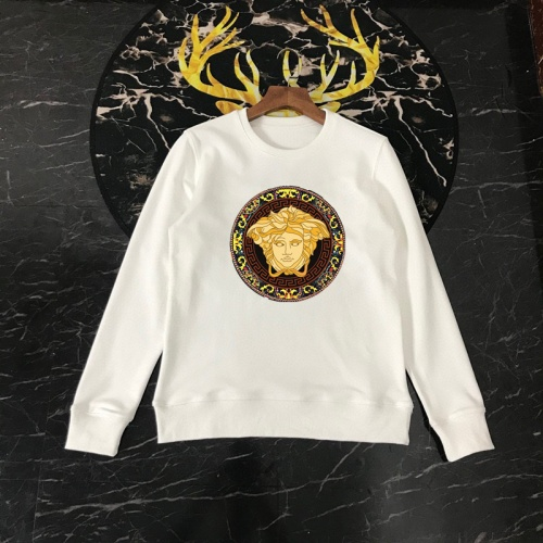 Versace Hoodies Long Sleeved O-Neck For Men #816087