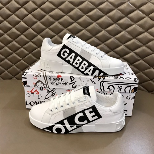 Dolce & Gabbana D&G Casual Shoes For Men #816279