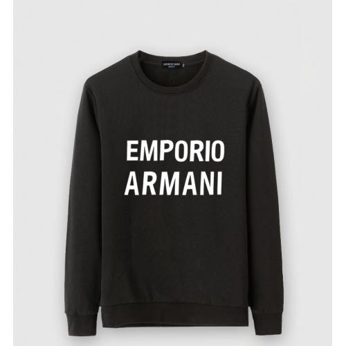 Armani Hoodies Long Sleeved O-Neck For Men #816398