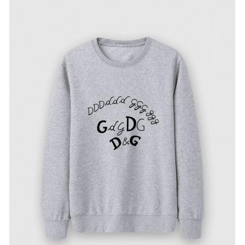Dolce & Gabbana D&G Hoodies Long Sleeved O-Neck For Men #816439