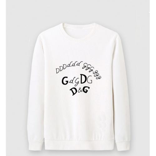 Dolce & Gabbana D&G Hoodies Long Sleeved O-Neck For Men #816441 $36.00 USD, Wholesale Replica Dolce & Gabbana D&G Hoodies