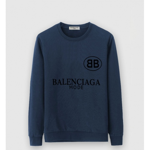 Balenciaga Hoodies Long Sleeved O-Neck For Men #816468