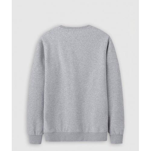 Replica Balmain Hoodies Long Sleeved O-Neck For Men #816475 $36.00 USD for Wholesale