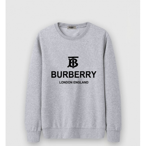 Burberry Hoodies Long Sleeved O-Neck For Men #816484