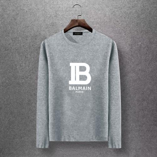 Balmain T-Shirts Long Sleeved O-Neck For Men #816517