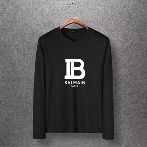 Balmain T-Shirts Long Sleeved O-Neck For Men #816518