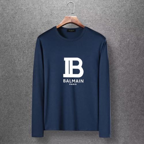 Balmain T-Shirts Long Sleeved O-Neck For Men #816519