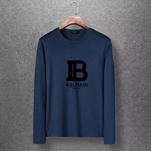 Balmain T-Shirts Long Sleeved O-Neck For Men #816520