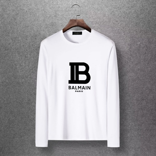 Balmain T-Shirts Long Sleeved O-Neck For Men #816522