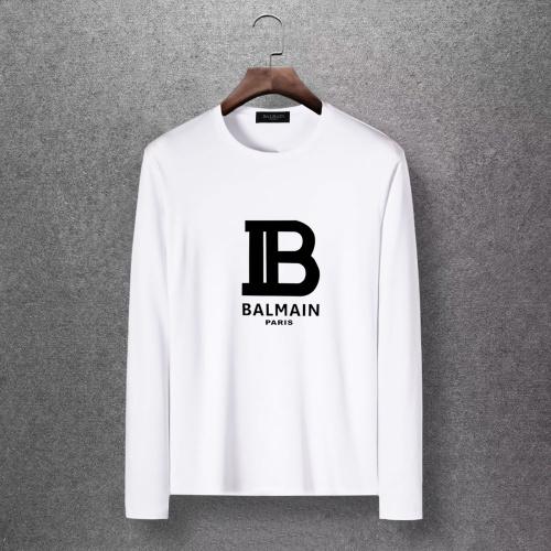 Balmain T-Shirts Long Sleeved O-Neck For Men #816522