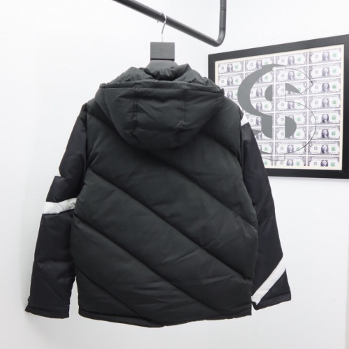 Replica Moncler Down Feather Coat Long Sleeved Zipper For Men #816574 $131.00 USD for Wholesale