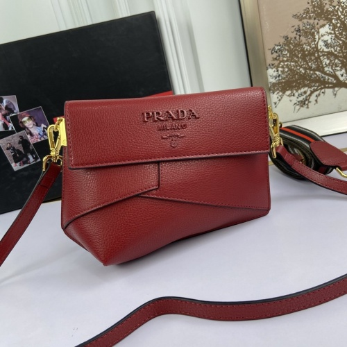 Prada AAA Quality Messeger Bags For Women #816654