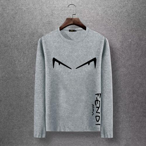 Fendi T-Shirts Long Sleeved O-Neck For Men #816671