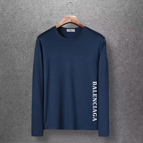 Balenciaga T-Shirts Long Sleeved O-Neck For Men #816680