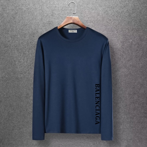 Balenciaga T-Shirts Long Sleeved O-Neck For Men #816685 $27.00, Wholesale Replica Balenciaga T-Shirts