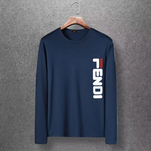 Fendi T-Shirts Long Sleeved O-Neck For Men #816690