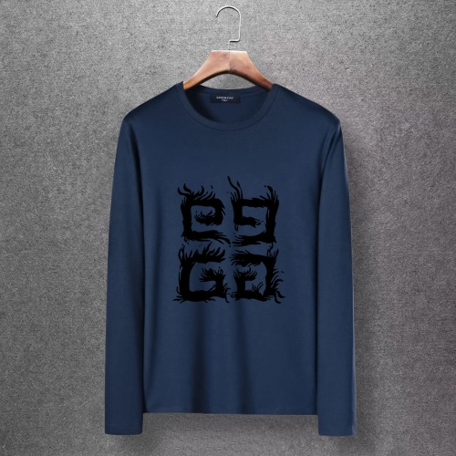 Givenchy T-Shirts Long Sleeved O-Neck For Men #816695 $27.00 USD, Wholesale Replica Givenchy T-Shirts
