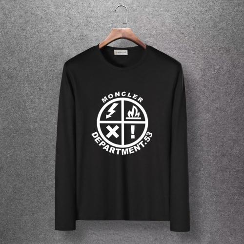 Moncler T-Shirts Long Sleeved O-Neck For Men #816701