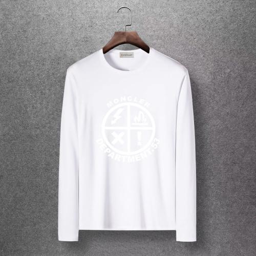 Moncler T-Shirts Long Sleeved O-Neck For Men #816703