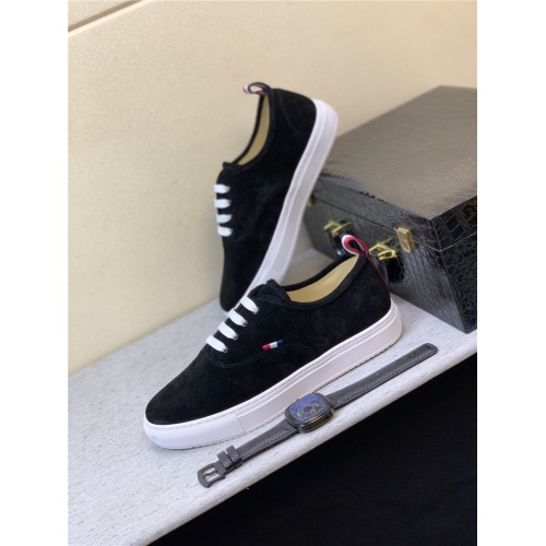 Thom Browne TB Casual Shoes For Men #816708 $72.00 USD, Wholesale Replica Thom Browne TB Casual Shoes