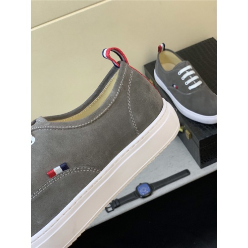 Replica Thom Browne TB Casual Shoes For Men #816711 $72.00 USD for Wholesale