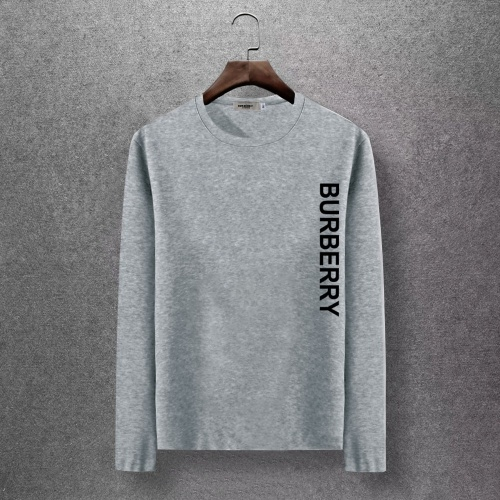 Burberry T-Shirts Long Sleeved O-Neck For Men #816786