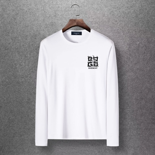 Givenchy T-Shirts Long Sleeved O-Neck For Men #816789 $27.00 USD, Wholesale Replica Givenchy T-Shirts